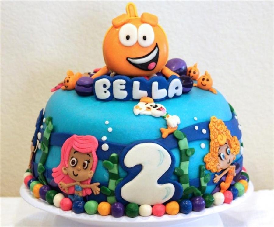 Amazing World Of Gumball Birthday Cake