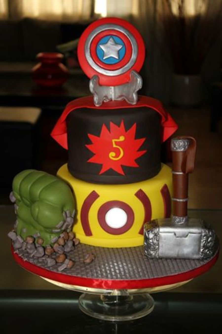 Avengers Birthday Cake The Light Installed In The Cake Is Watermelon Wallpaper Rainbow Find Free HD for Desktop [freshlhys.tk]