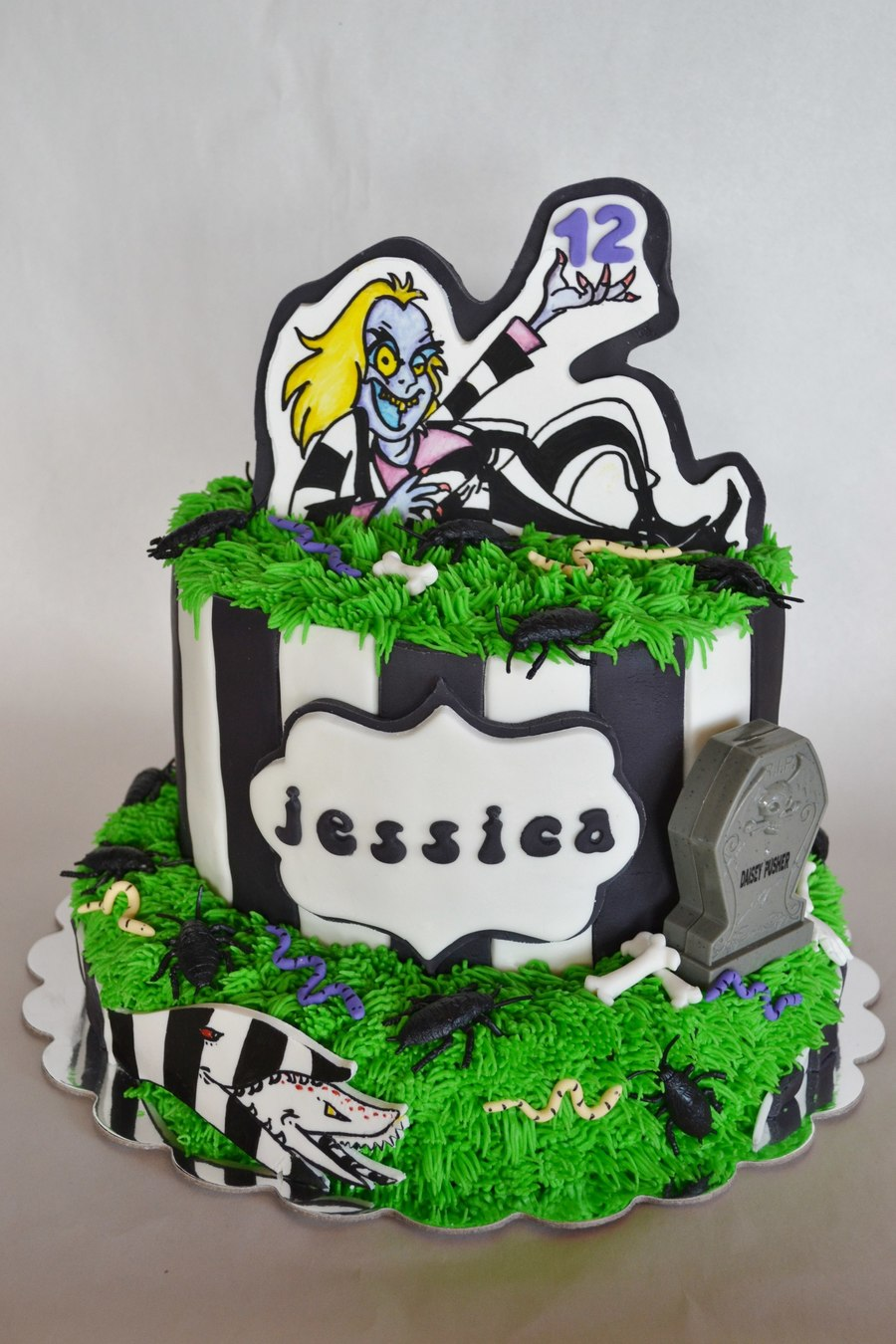 Beetlejuice Cake on Cake Central