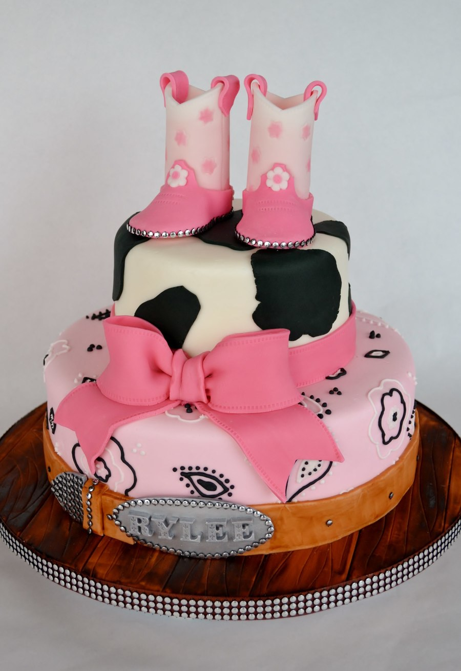 Cowgirl Western Cake Cakecentral Com