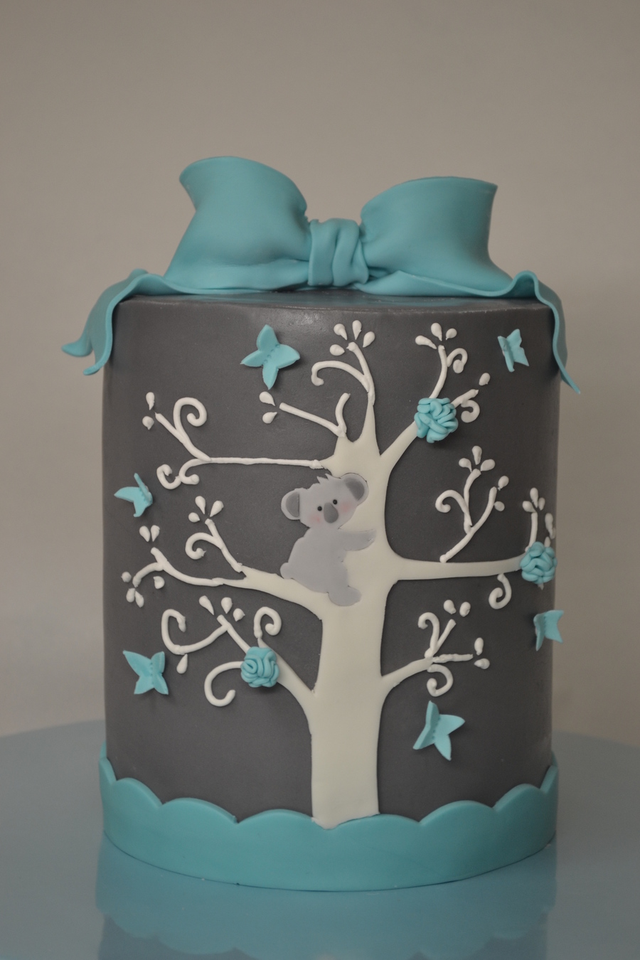 Koala Barrel Cake on Cake Central