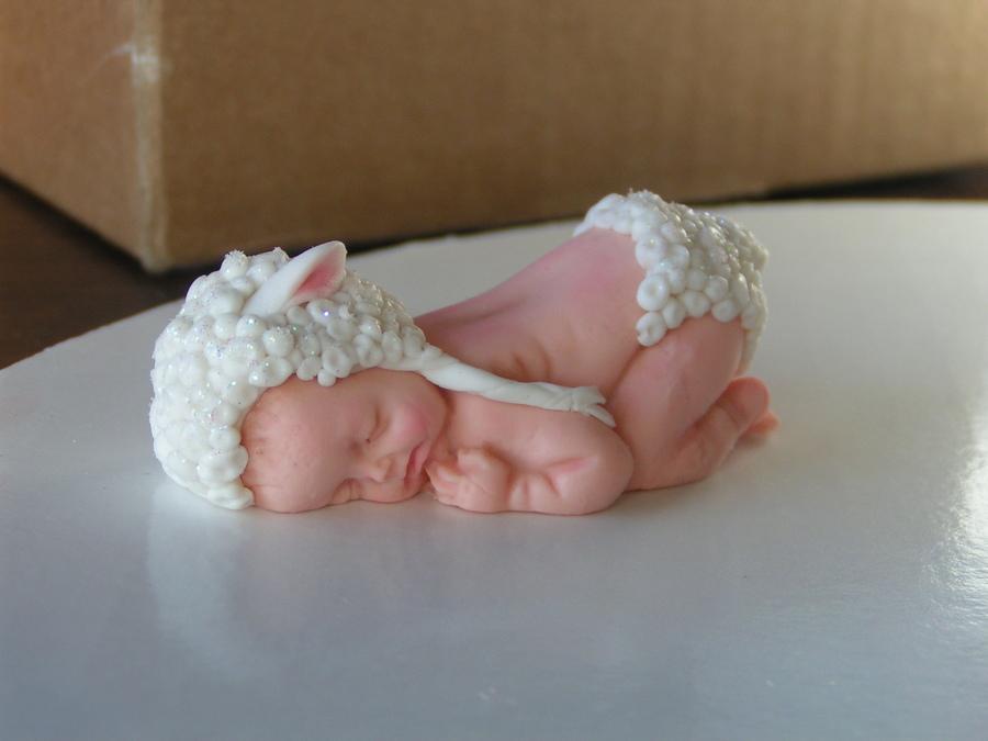 Baby Diaper Cake Shaped Baby