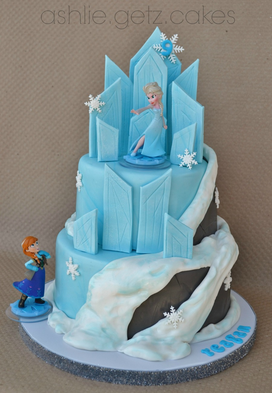 Images Of Frozen Character Cake : Disney s Frozen Cake - CakeCentral.com