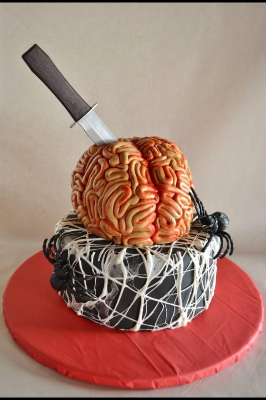 Halloween Brain Cake Cakecentral Com