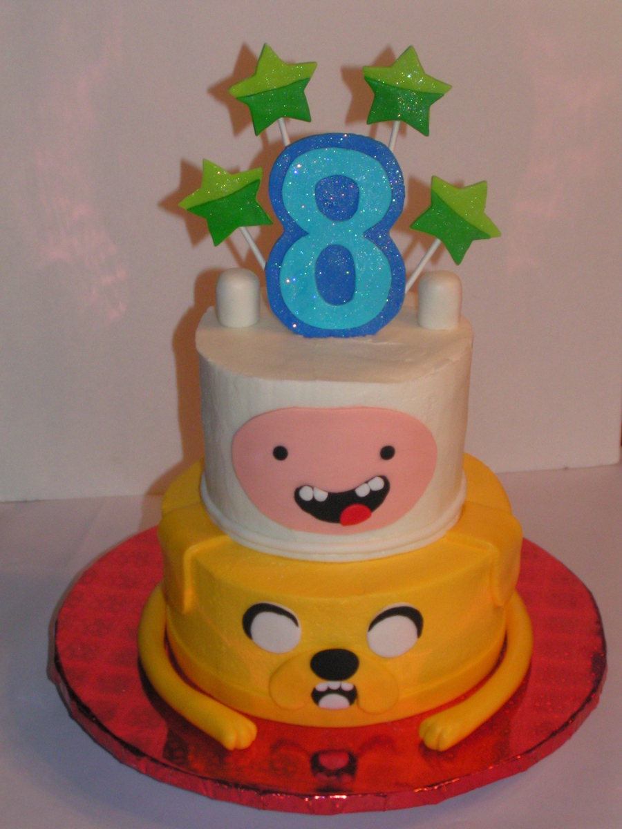 Adventure Time Cake on Cake Central