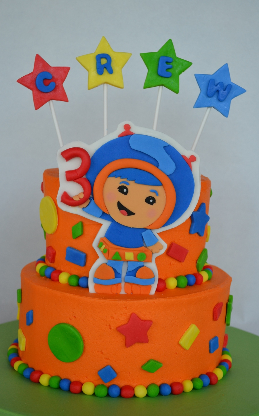 Umizoomi Birthday Cake Ideas