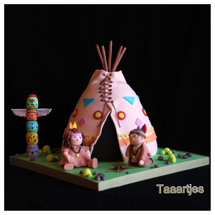 Tee Peeamerican Indian Cake on Cake Central