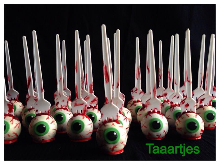 Halloween Eyeball Cakepops Cakecentral Com