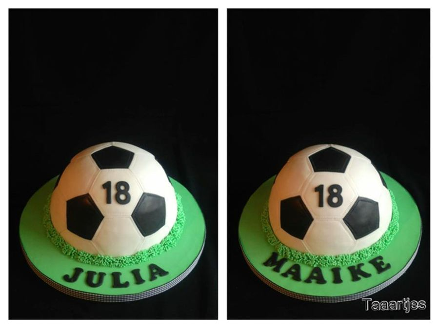 Soccer Twins Cake on Cake Central