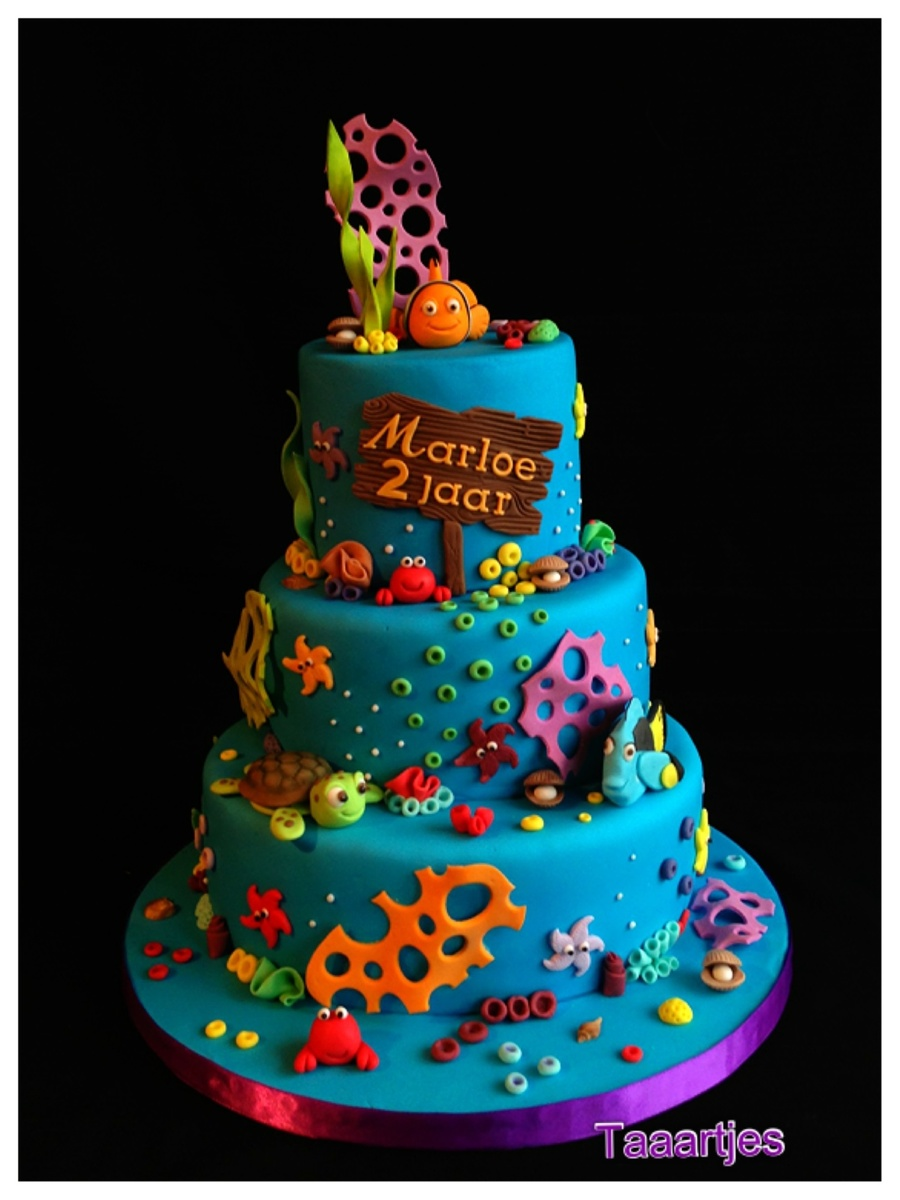 Cake Design Nemo : Finding Nemo Cake - CakeCentral.com