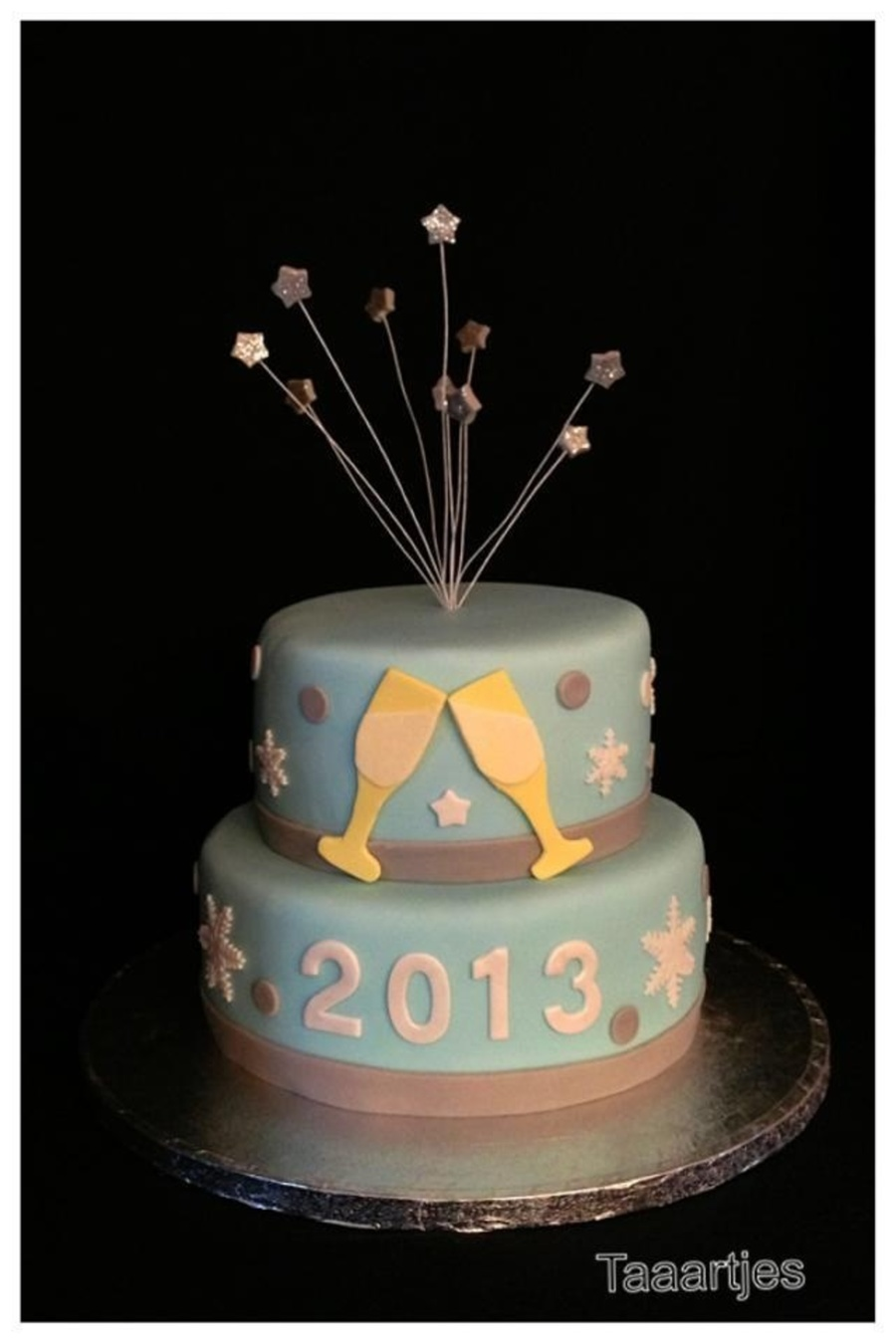 New Year Cake on Cake Central
