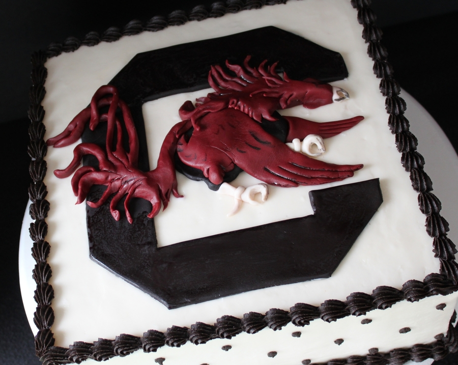 Usc Gamecock on Cake Central