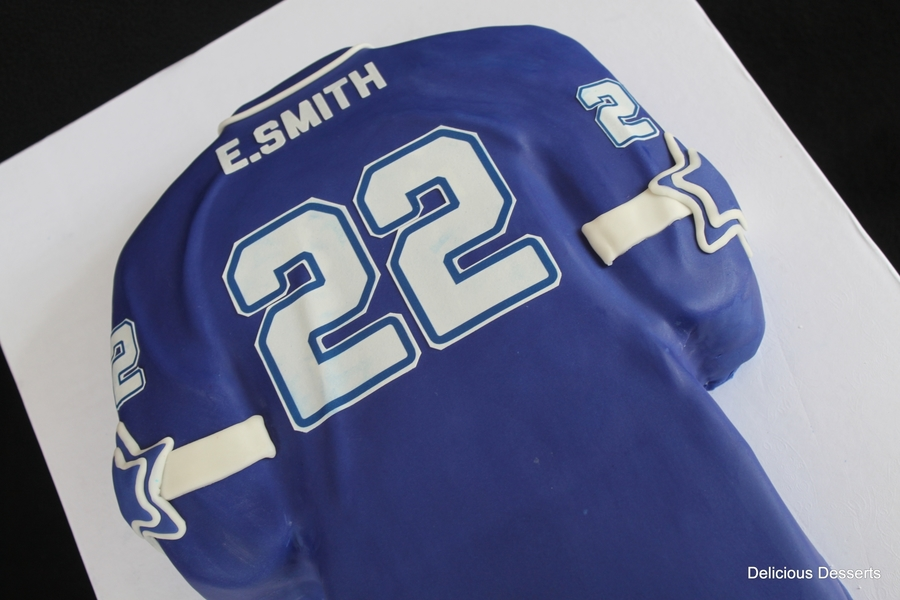 best website f850f 2fcf4 Dallas Cowboys Emmitt Smith Jersey - CakeCentral.com