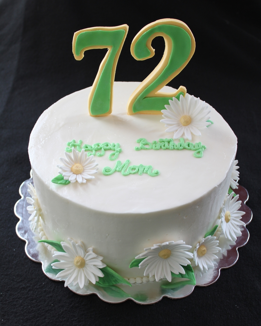 Birthday Cakes For  Year Old Woman