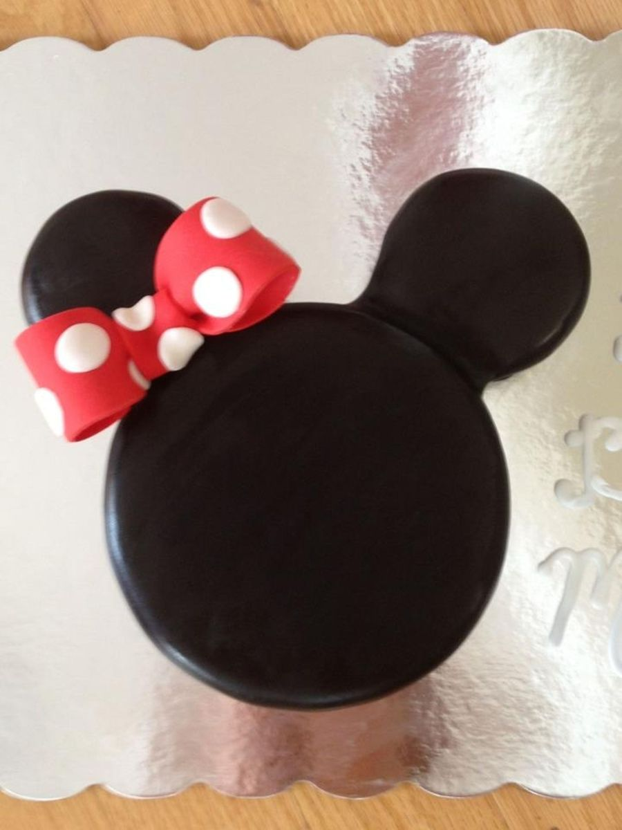 Minnie Mouse Ears  on Cake Central