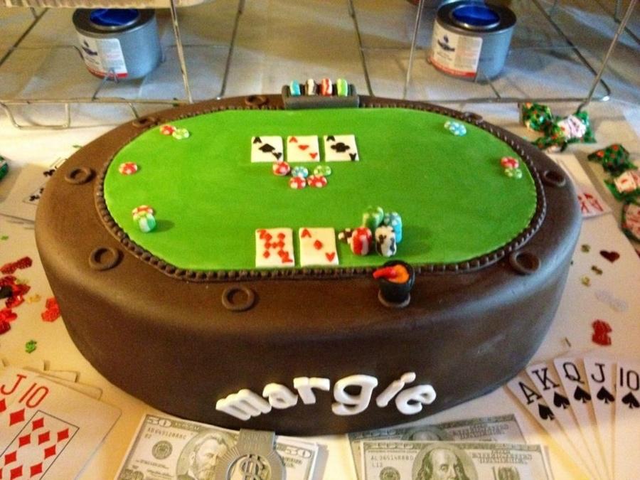 Poker Birthday Cake Recipe