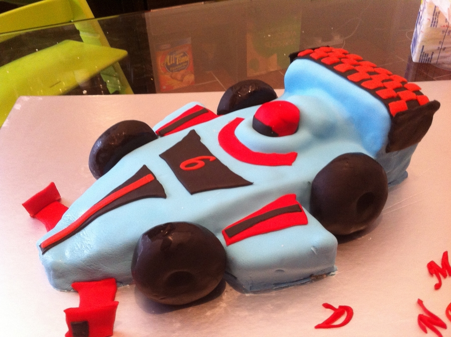 F1 Birthday Cake on Cake Central