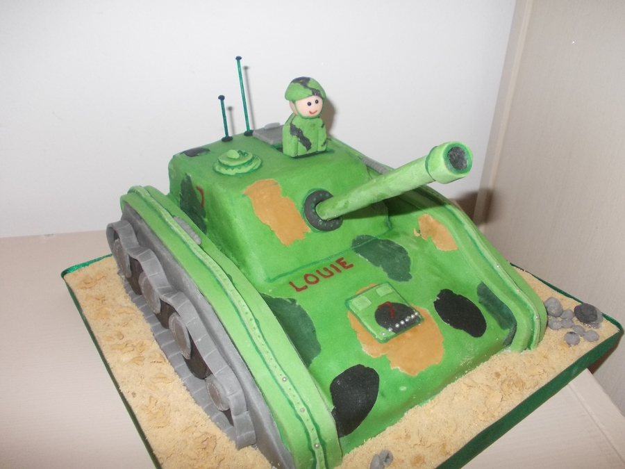 Tank Cake on Cake Central