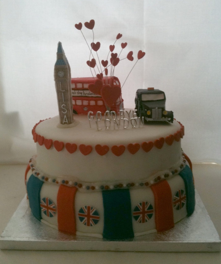 Farewell London on Cake Central