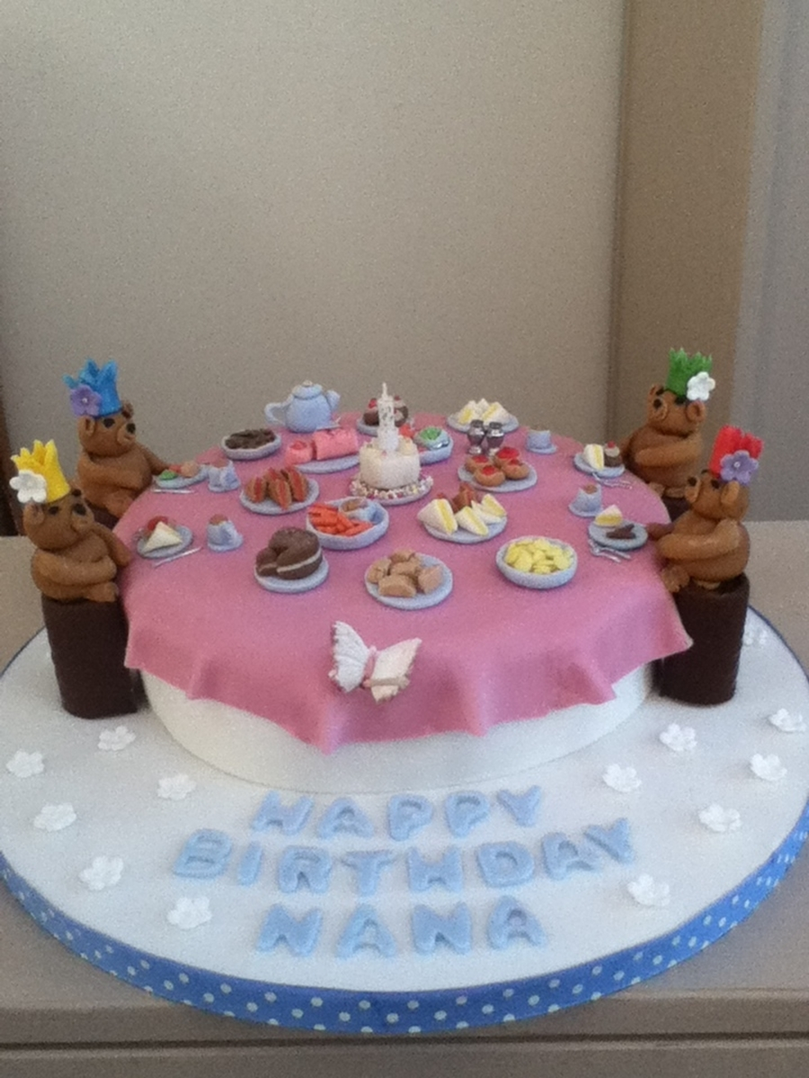 Teddy Bear Picnic on Cake Central