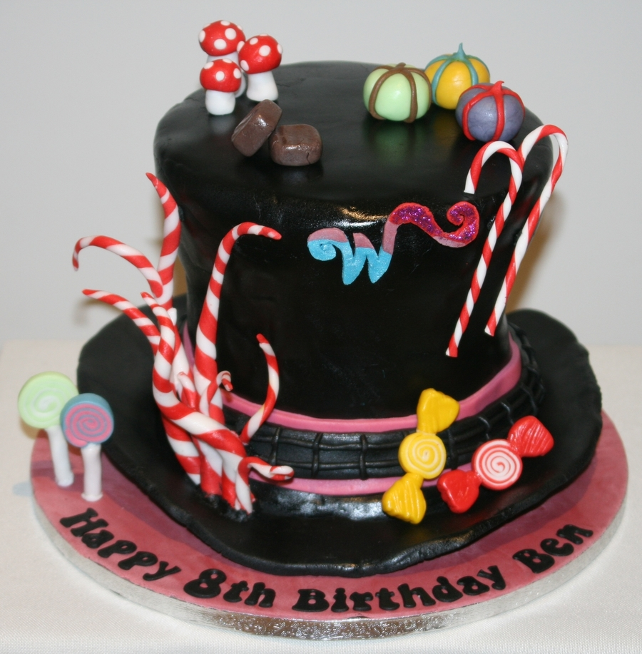 Charlie And Chocolate Factory Cake
