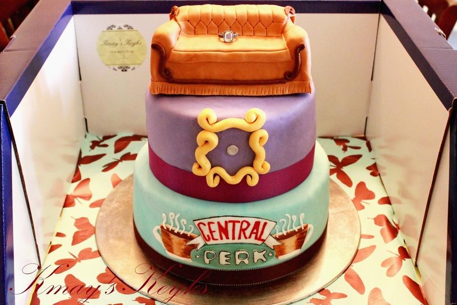Cake Decorating Tv Show : Friends Tv Show Cake - CakeCentral.com
