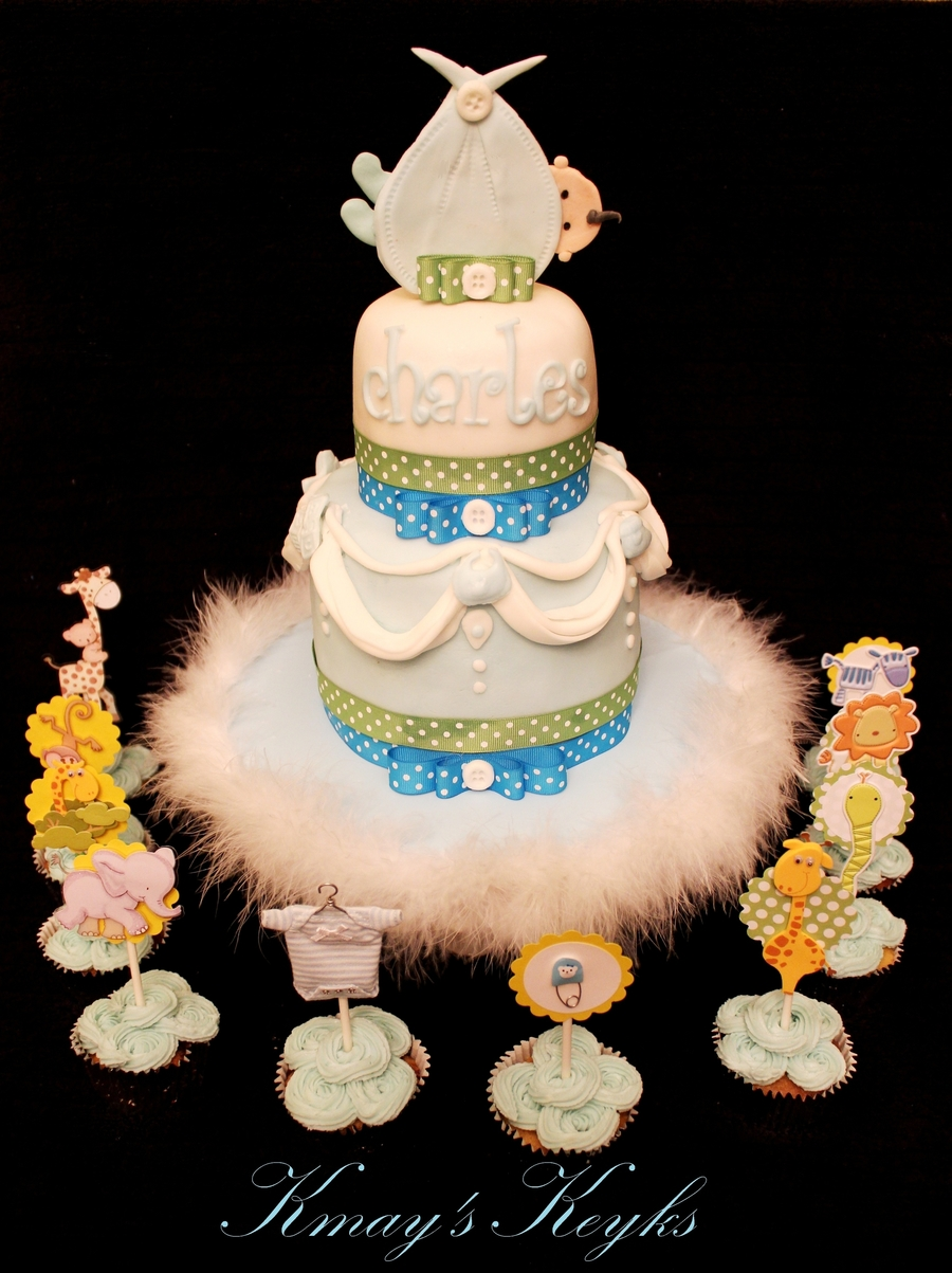 Baby Sling Cake & Cupacakes on Cake Central