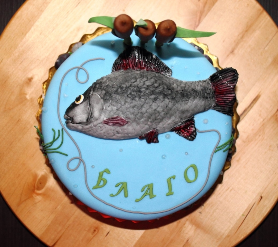 Fish Cake on Cake Central