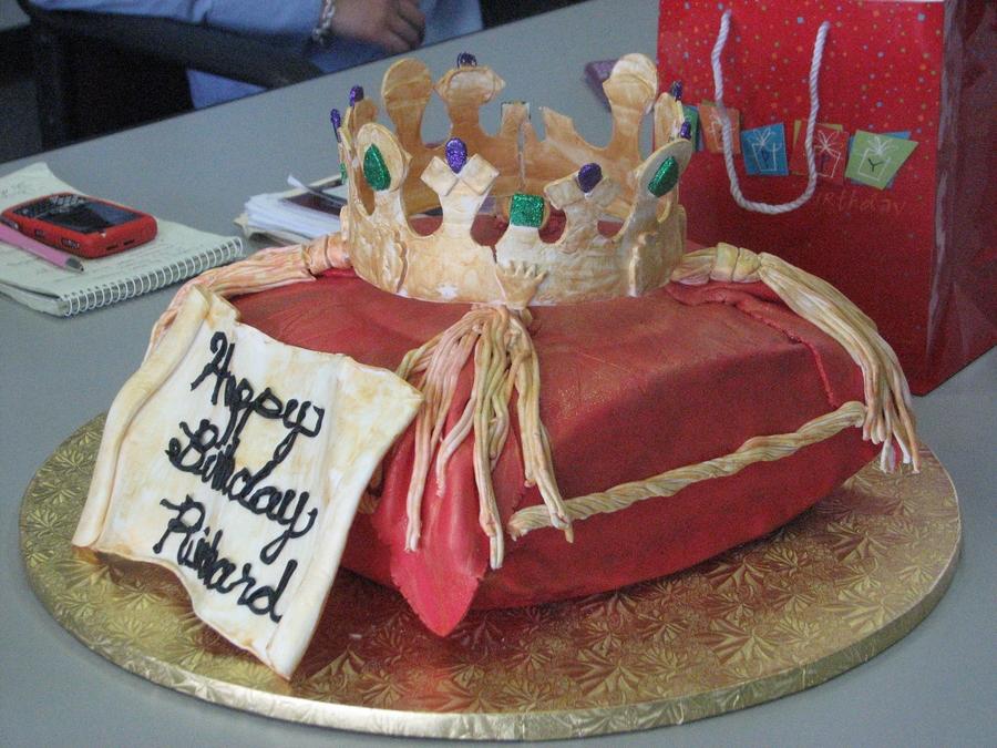 King Richard Birthday Cake CakeCentralcom
