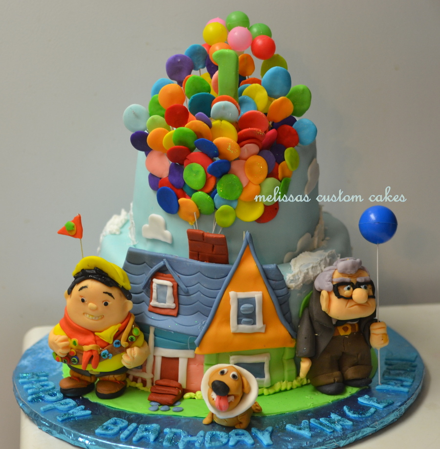 Up Inspired Cake Fondant Characters on Cake Central