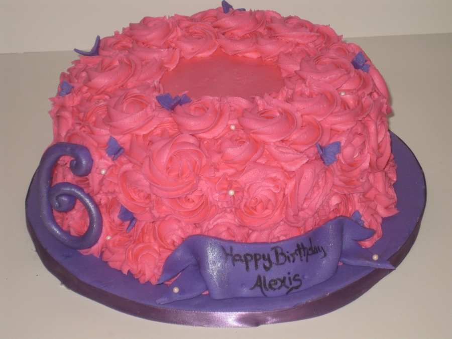 Girly Girl Cake on Cake Central