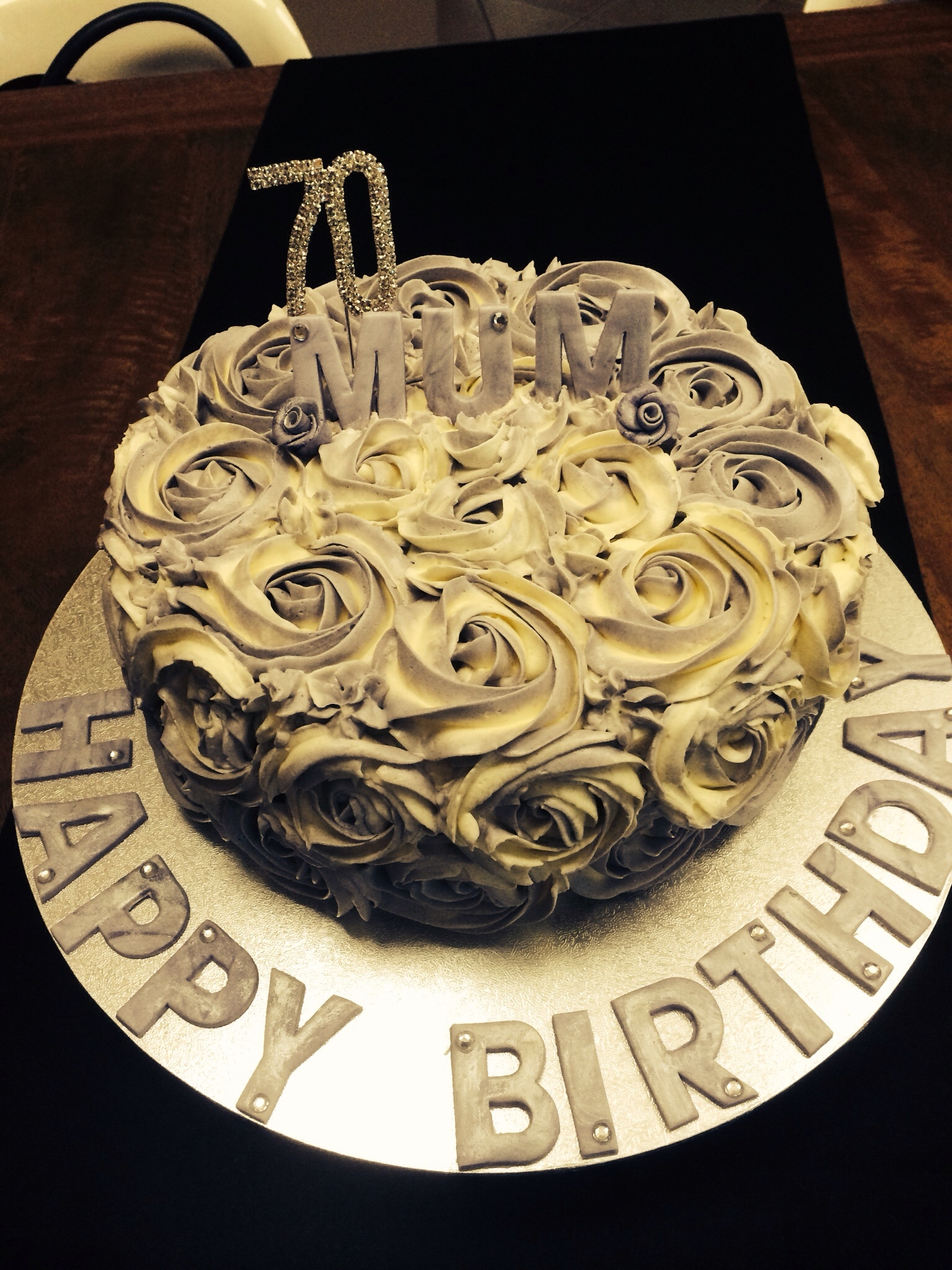 70 Birthday Cake Cakecentral Com