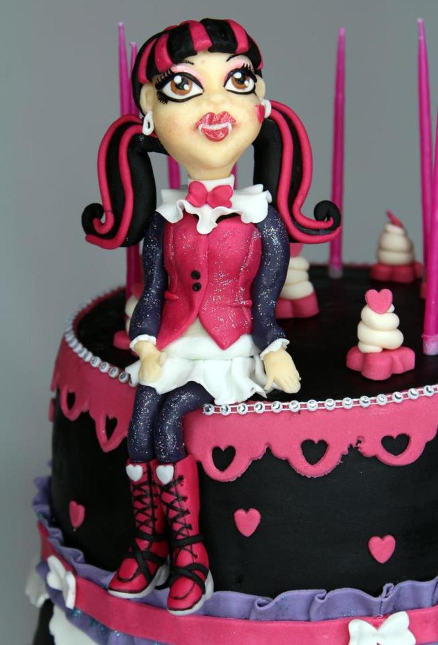 Draculaura Monster High on Cake Central