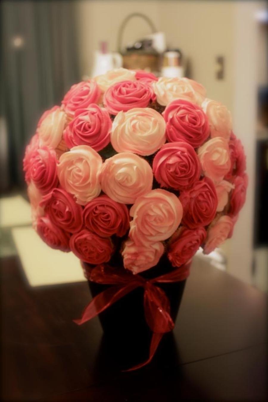 Cupcake Bouquet Cakecentral Com
