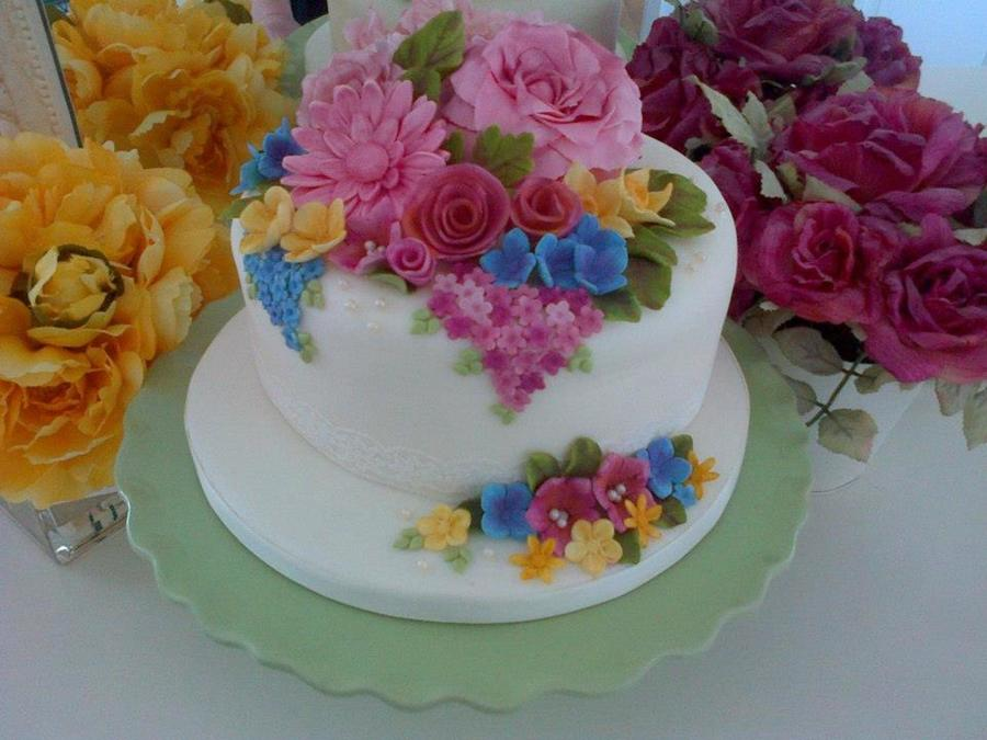 Floral Dream on Cake Central