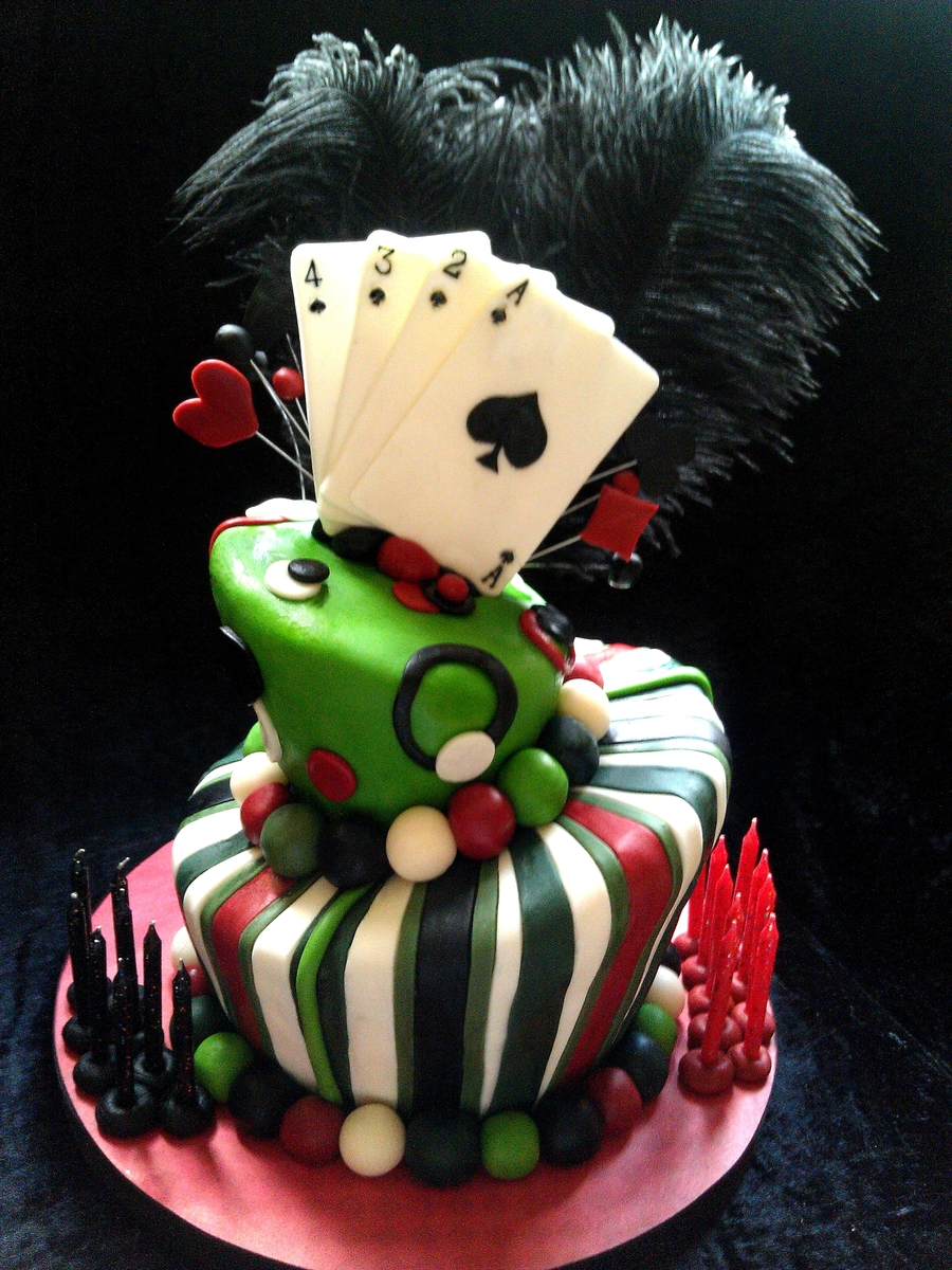 Playing Card Cake on Cake Central