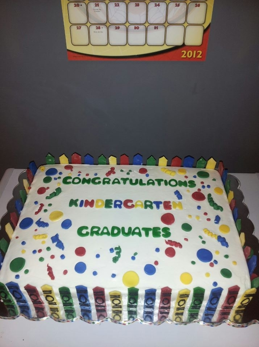 Easy Daycare Graduation Cakes
