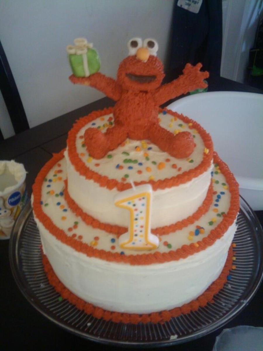 Elmo Birthday Cake Cakecentral