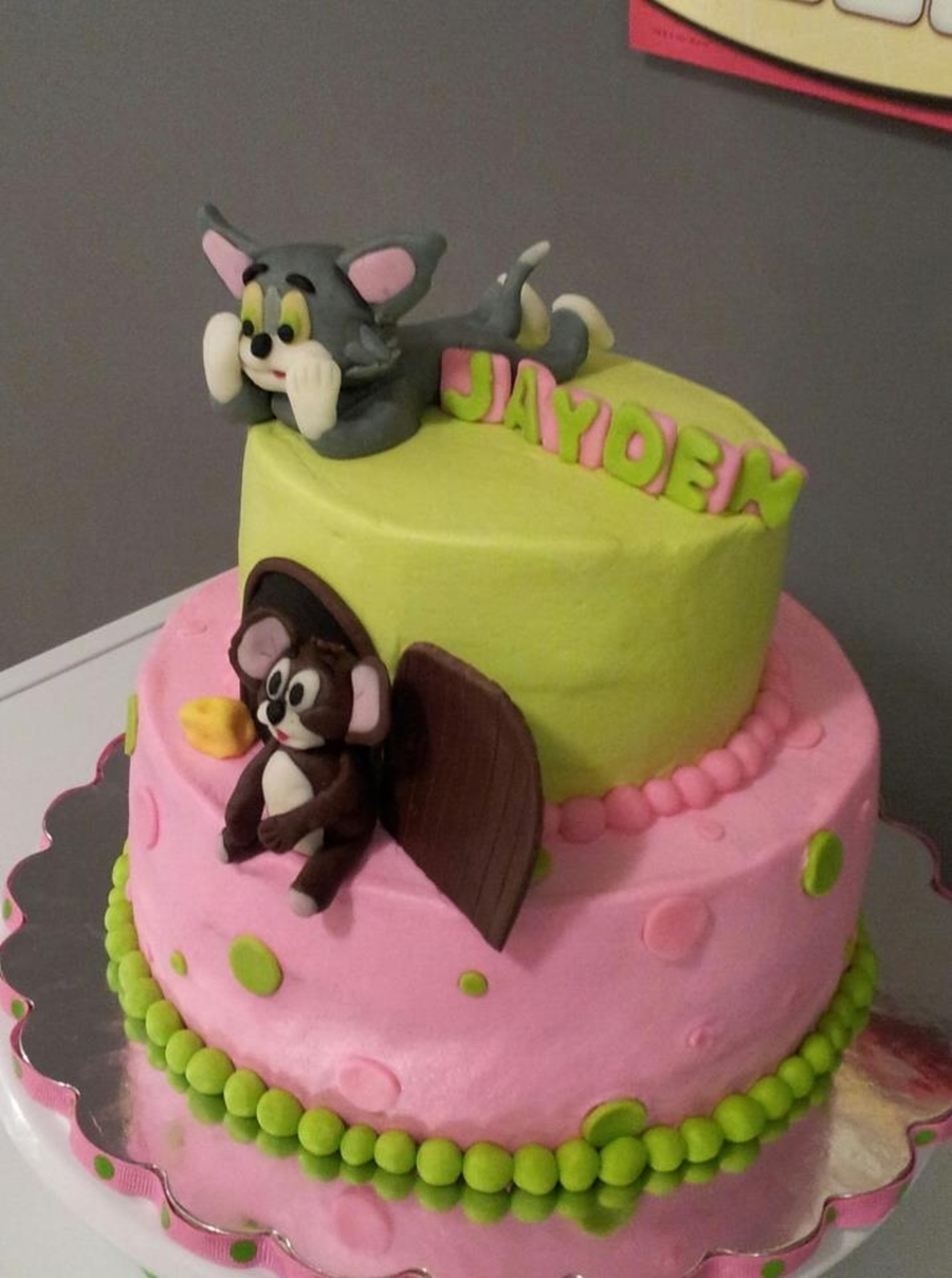 Tom Cat Birthday Cake Image Inspiration of Cake and Birthday