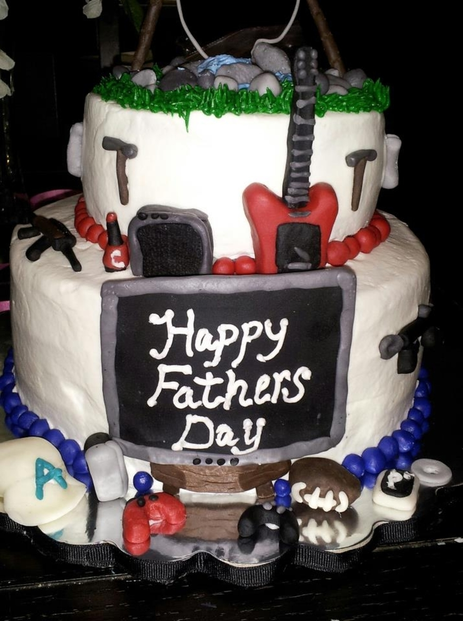 Father's Day Cake on Cake Central