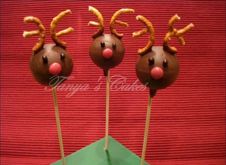 Reindeer Cake Pops on Cake Central