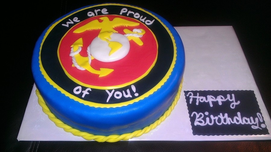 Marines Cake on Cake Central