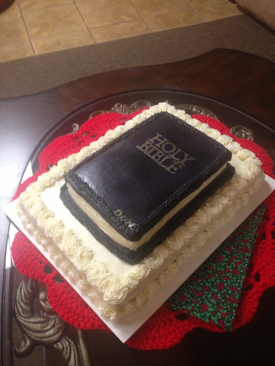 Holy Bible  on Cake Central