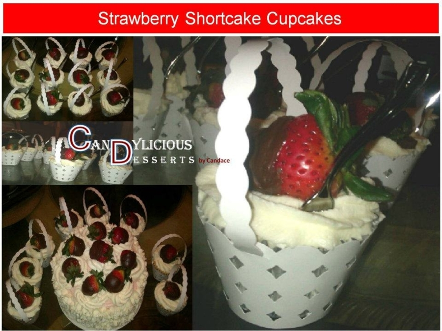 Strawberry Shortcake Cupcakes on Cake Central
