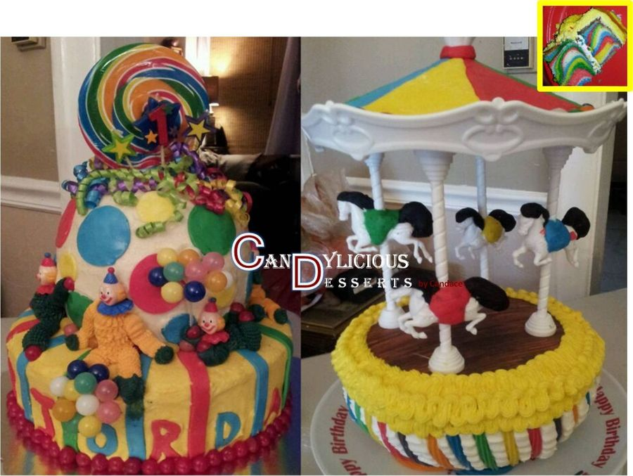 Carnival First Birthday on Cake Central
