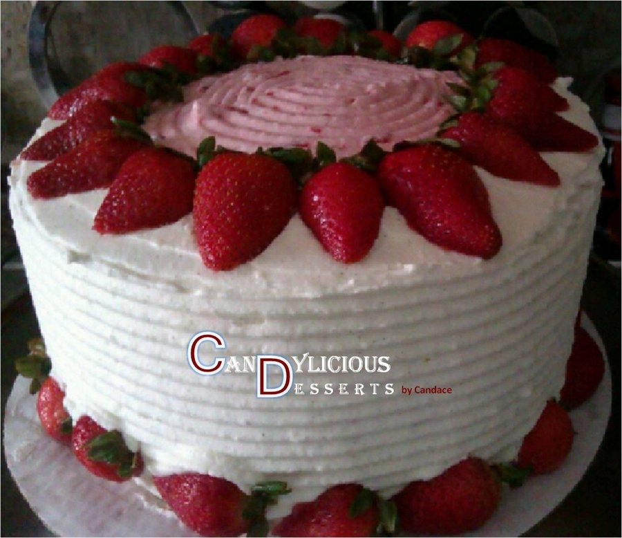 Strawberry Shortcake on Cake Central
