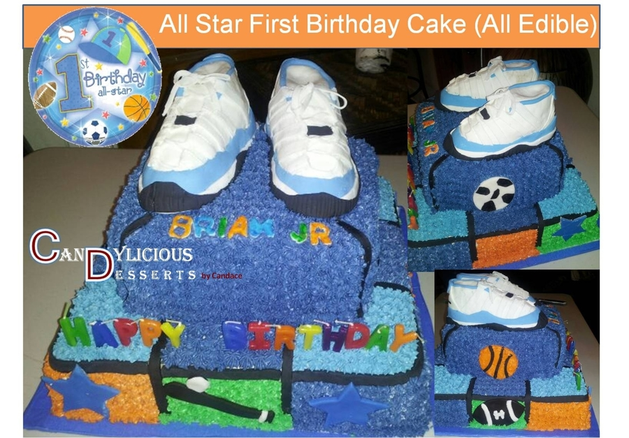 Miraculous All Star First Birthday Cake Cakecentral Com Funny Birthday Cards Online Bapapcheapnameinfo