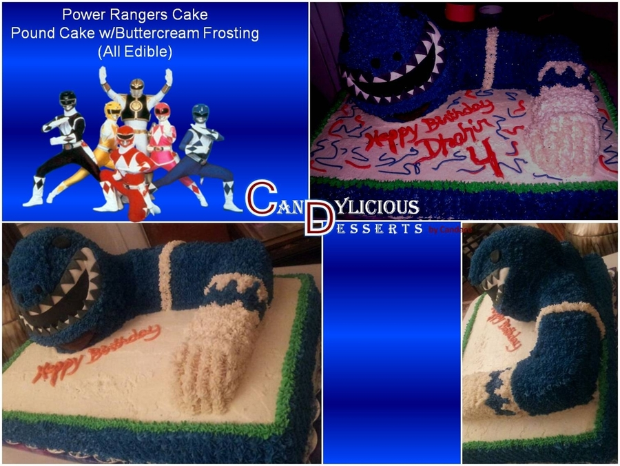 Power Ranger Cake - Buttercream on Cake Central