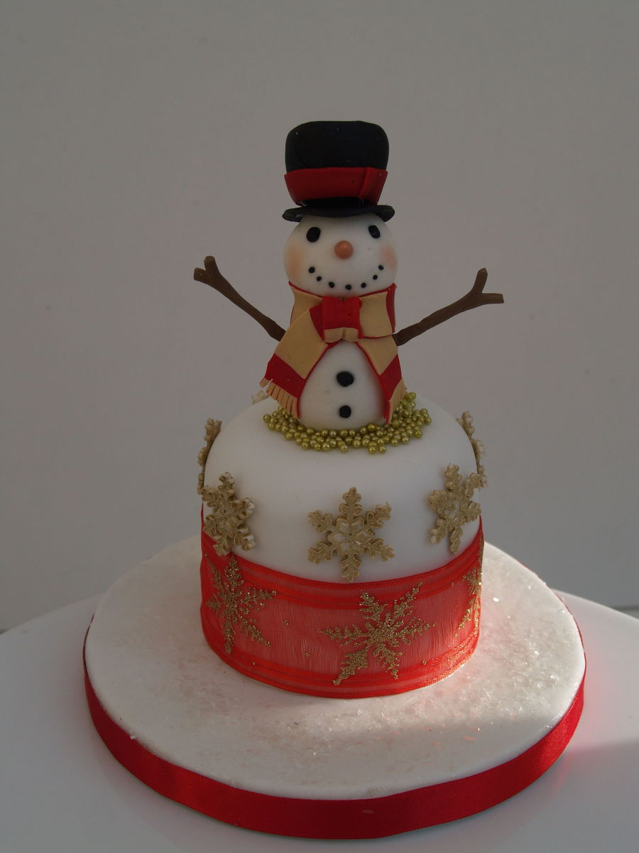 Mini Christmas Cakes 2012 on Cake Central