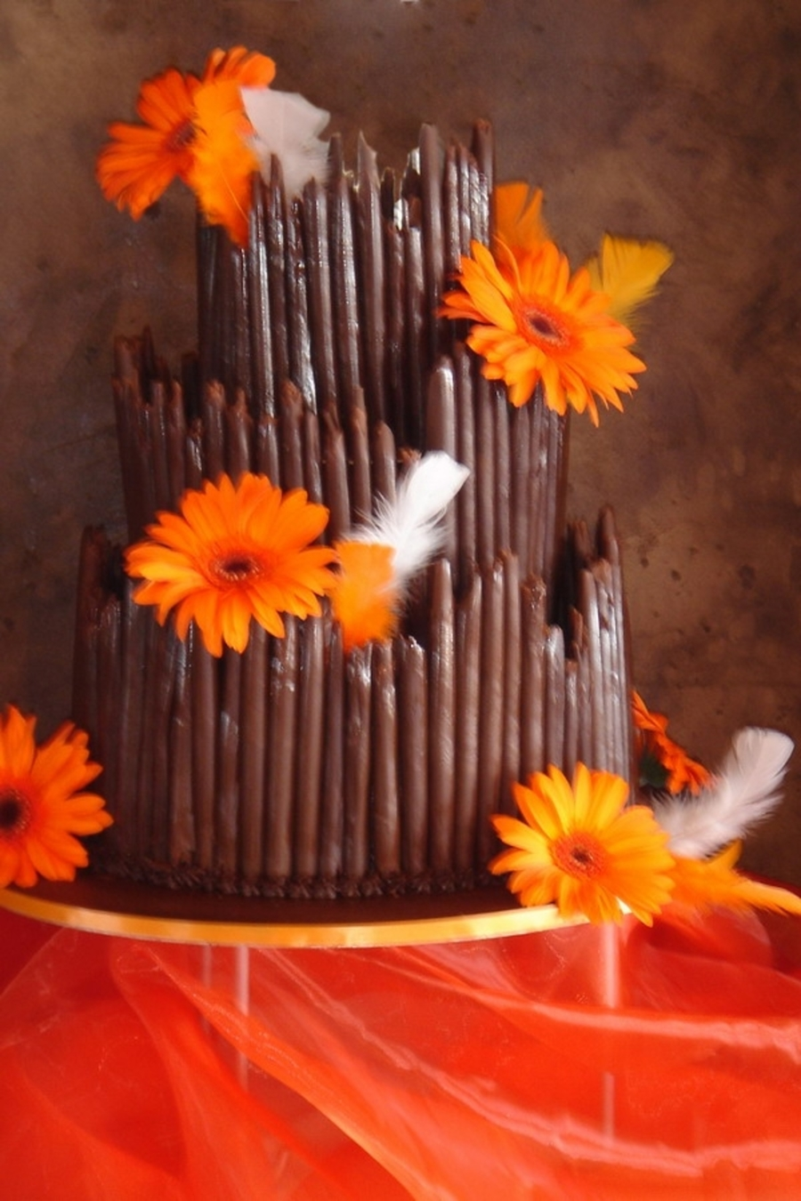 Chocolate Cigarillos on Cake Central